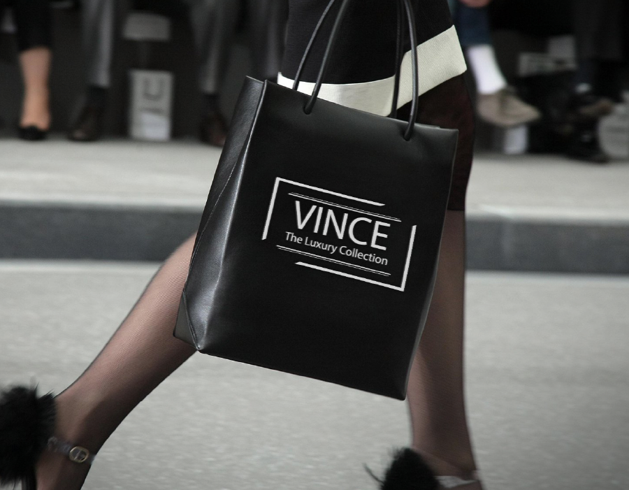 Vince Shopping Bag